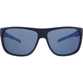 Red Bull SPECT Loom Sunglasses, matt blue/smoke-blue mirror